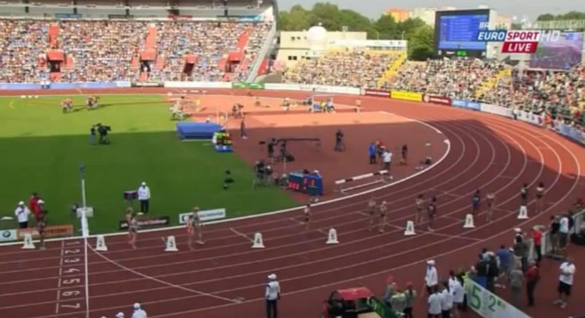 Women's 800m IAAF World Challenge Ostrava 2014