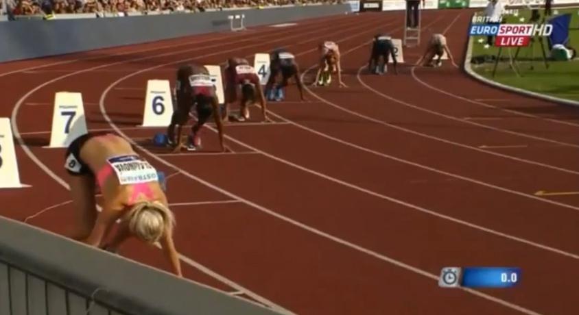 53rd Golden Spike Ostrava women 200m - Allyson Felix gets hard fought win in 22.75