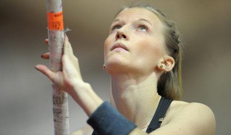 Анжелика Сидорова победила на командном чемпионате Европы в прыжках с шестом