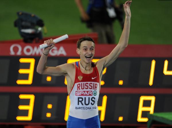 Мужская сборная команда России победила на командном чемпионате Европы в беге 4х400м +Видео