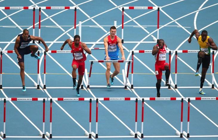 Хэнсл Парчмент стал первым ямайцем, выбежавшим из 13 секунд на 110 м с/б