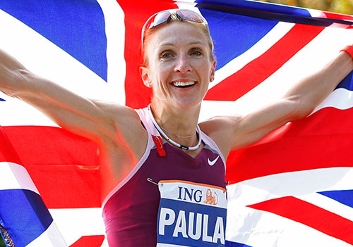 Пола Рэдклифф выступит в забеге на 10 км в английском городе Вустер