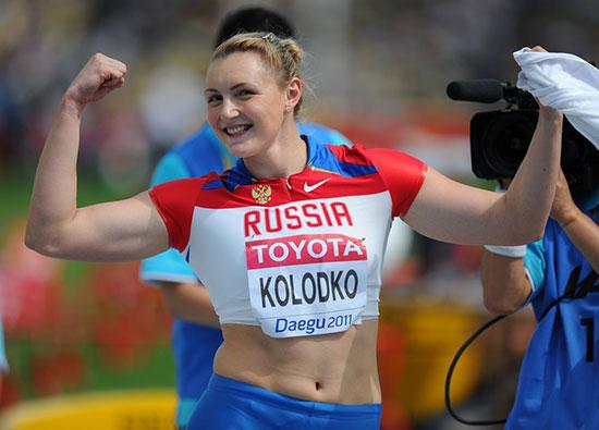 Евгения Колодко выиграла Кубок России в толкании ядра