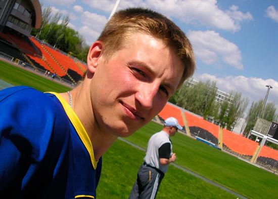 Украинец выиграл легкоатлетический турнир в Чехии