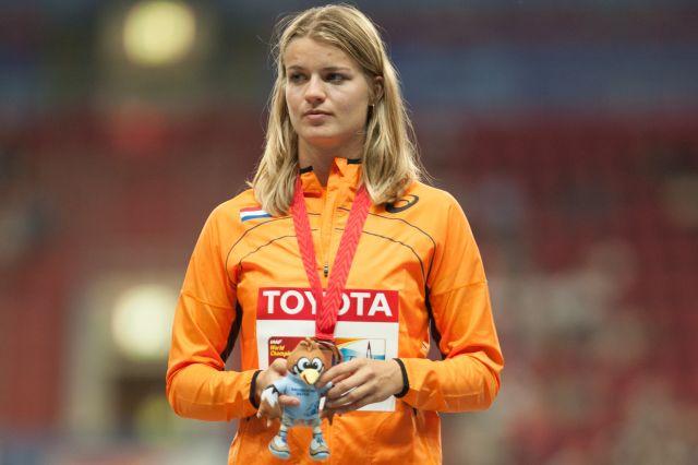 Дафне Шиперс с национальным рекордом побеждает в Глазго. Видео