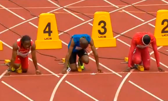 Men's 100m Heat 6 IAAF World Junior Championship 2014