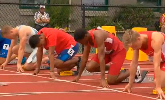 Men's 100m Heat 5 IAAF World Junior Championship 2014