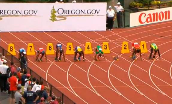 Men's 100m Heat 4 IAAF World Junior Championship 2014