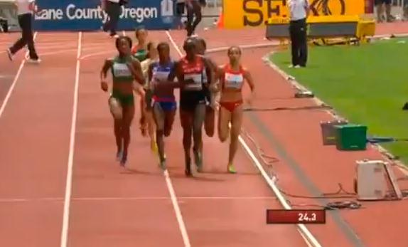 Women's 800m Heat 4 IAAF World Junior Championship 2014