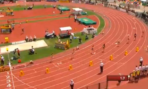 Women's 800m Heat 1 IAAF World Junior Championship 2014