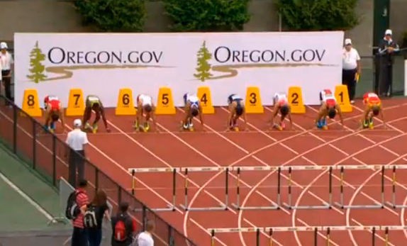 Men's 110m Hurdles Heat 7 IAAF World Junior Championship 2014