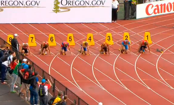 100m Decathlon Race 2 IAAF World Junior Championship 2014