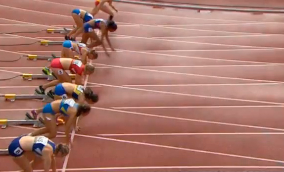 100m Hurdles Heptathlon Race 3 IAAF World Junior Championship 2014