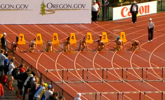 100m Hurdles Heptathlon Race 1 IAAF World Junior Championship 2014