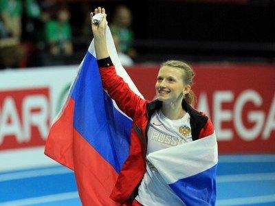 Анжелика Сидорова одержала победу в прыжках с шестом на чемпионате России