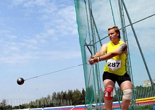 Анна Булгакова победила в метании молота на чемпионате России по легкой атлетике