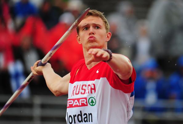 Валерий Иордан победил в метании копья на чемпионате России по легкой атлетике