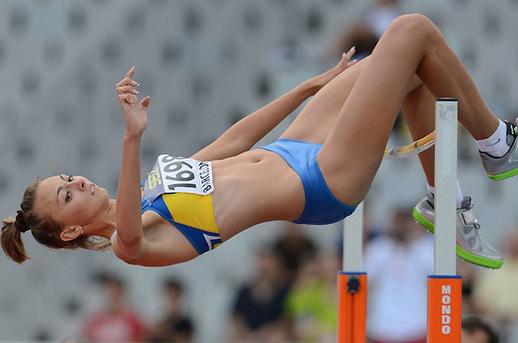 Украинка Ирина Геращенко в пятерке по прыжкам высоту на юниорском ЧМ