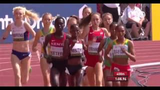 IAAF World Junior Championships 2014 - Women's 1500 Metres Final