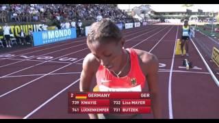 IAAF World Junior Championships 2014 - Women's 4x100 Metres Relay Final