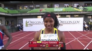 IAAF World Junior Championships 2014 Women's 100 Metres Final