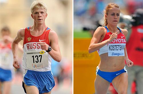IAAF дисквалифицировала двух российских легкоатлетов