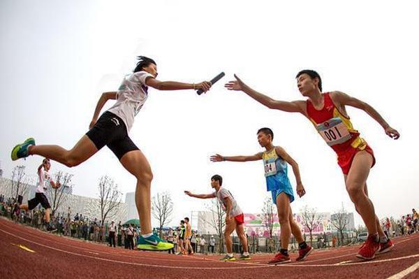 Новинка Юношеских Олимпийских Игр в Нанкине– эстафета 8х100