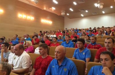 Подготовка российской сборной по легкой атлетике к Чемпионату Европы в Цюрихе
