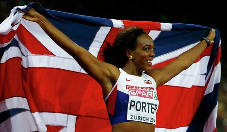 Британка Тиффани Портер стала чемпионкой Европы в беге на 100 м с барьерами