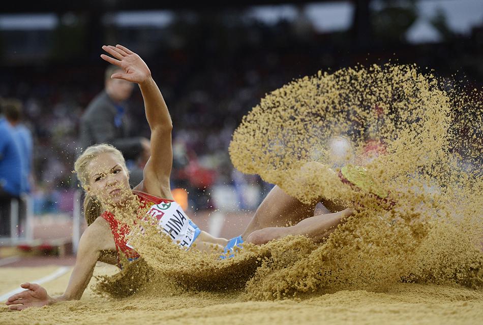 Прыгунья в длину Дарья Клишина завоевала бронзу чемпионата Европы