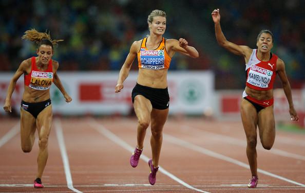 Дафна Схипперс выиграла 200м на финальном этапе Бриллиантовой лиги +Видео