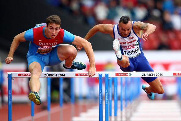 Сергей Шубенков вышел в финал чемпионата Европы в беге на 110 м с барьерами