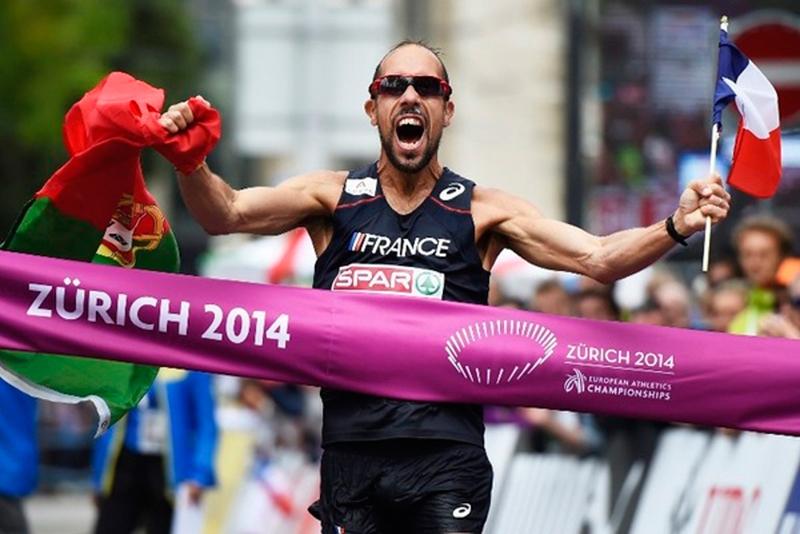 Йоанн Диниз выиграл золото Чемпионата Европы на дистанции 50 км с мировым рекордом + Видео