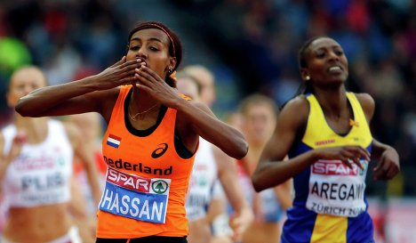 Сифан Хассан победила в беге на 1500 м на чемпионате Европы + Видео