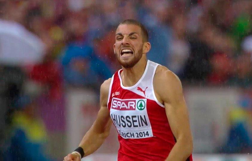 Карим Хуссейн приносит своей стране золото чемпионата Европы, побеждая в беге на 400 м с барьерами +Видео