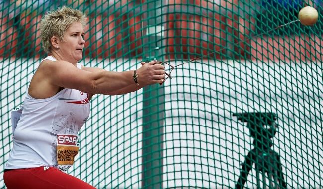 Анита Влодарчик одержала победу на Чемпионате Европы в метании молота