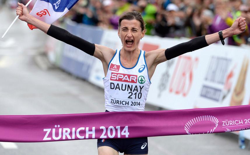 Кристель Доне выиграла марафон на чемпионате Европы + Видео
