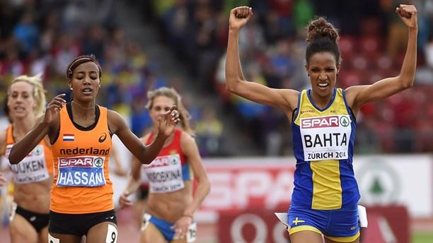 Мераф Бахта победительница чемпионата Европы в беге на 5000 м