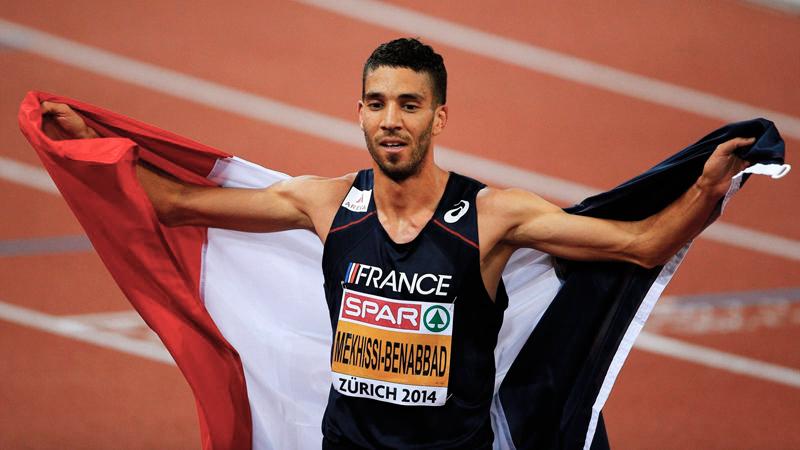 Маедин Мехисси-Бенаббад одерживает победу в беге на 1500 м на Чемпионате Европы по легкой атлетике +Видео