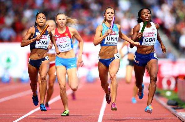 Женская сборная Украины завоевала серебро в эстафете 4х400 м на чемпионате Европы по легкой атлетике. Команда Франции - победители! +Видео