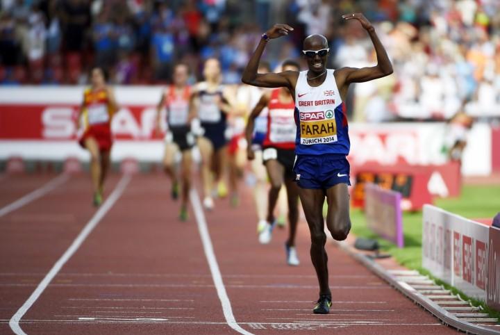 Мо Фара завоевал золото в беге на 5 000 м на чемпионате Европы