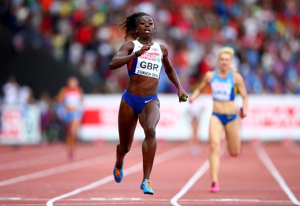 Женская сборная России завоевала бронзу в эстафете 4х100 м на чемпионате Европы в Цюрихе. Победители забега - сборная команда Британии