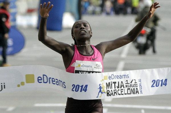 Флоренск Киплагат и Амос Киплимо выиграли DiamondRace в Найроби