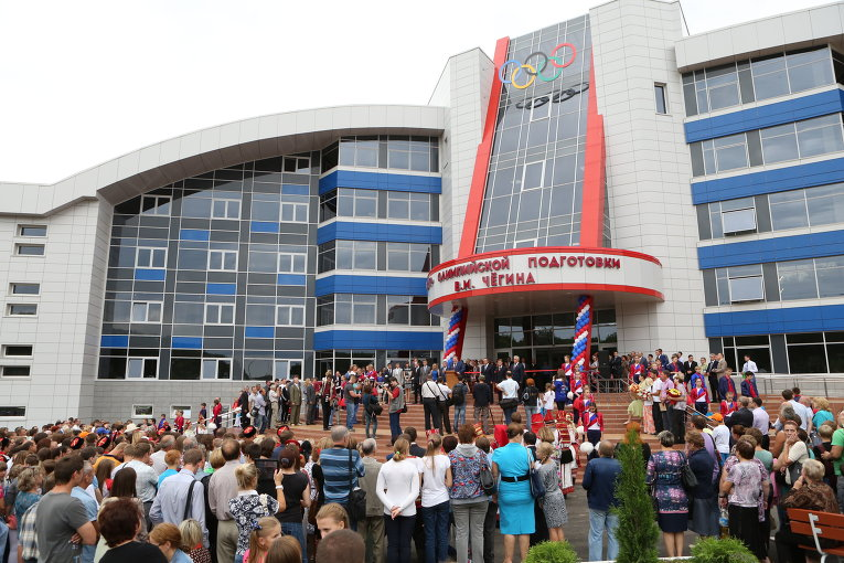 Виталий Мутко открыл новый корпус Центра спортивный  ходьбы имени Виктора Чегина в Саранске