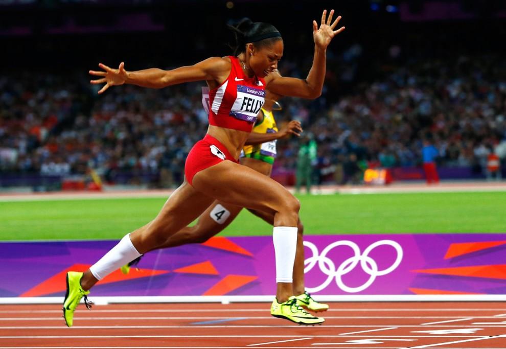 Эллисон Феликс – победительница одиннадцатого этапа Бриллиантовой лиги в беге на 200м +Видео