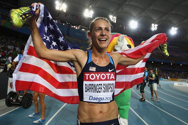 Дженнифер Симпсон одержала победу в беге на 1500 м на этапе Бриллиантовой лиги в Стокгольме