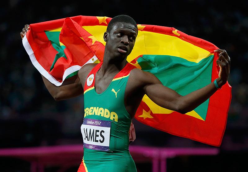 Кирани Джеймс победил в забеге на 400 м на 12 этапе Бриллиантовой Лиги + Видео