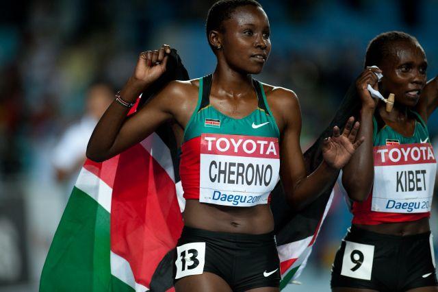 Мерси Чероно - победительница забега на 2 мили на двенадцатом этапе Бриллиантовой лиги + Видео