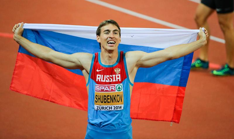 Сергей Шубенков и Мария Кучина возглавят сборную России по легкой атлетике на DecaNation