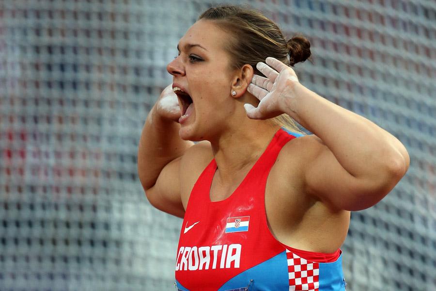 Сандра Перкович победила в метании диска на тринадцатом этапе Бриллиантовой лиги в Цюрихе